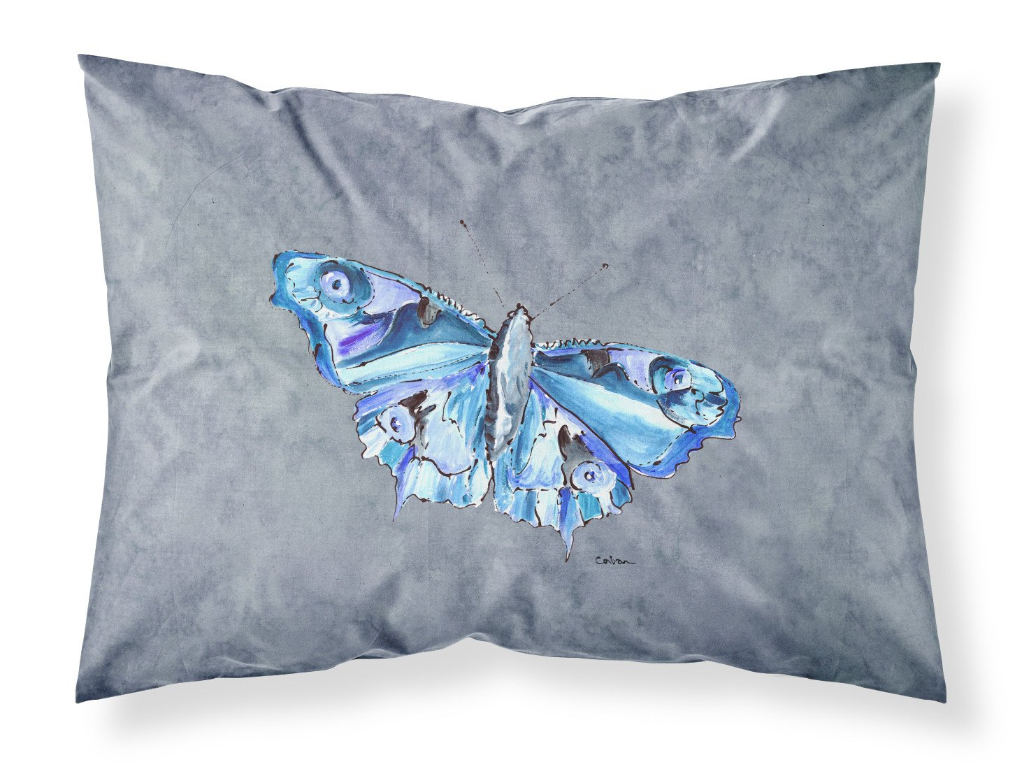 Buy this Butterfly on Gray Moisture wicking Fabric standard pillowcase