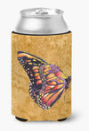 Buy this Butterfly on Gold Can or Bottle Beverage Insulator Hugger