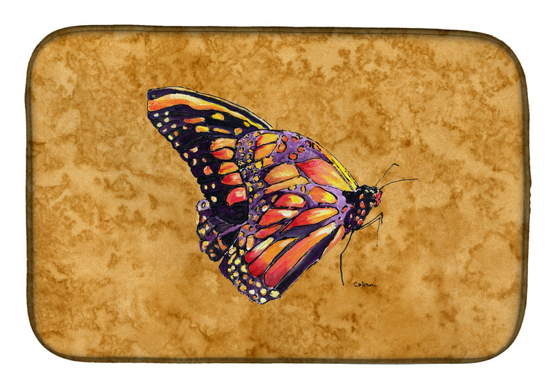 Buy this Butterfly on Gold Dish Drying Mat 8858DDM