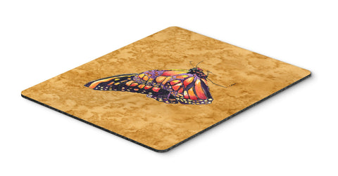 Buy this Butterfly on Gold Mouse Pad, Hot Pad or Trivet