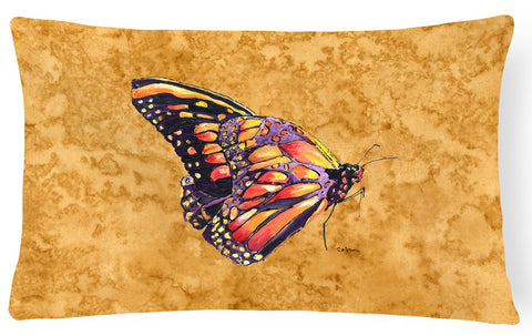 Buy this Butterfly on Gold   Canvas Fabric Decorative Pillow