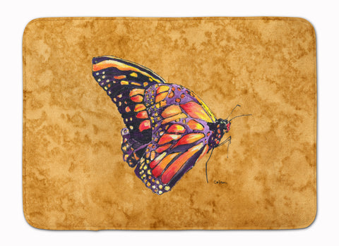 Buy this Butterfly on Gold Machine Washable Memory Foam Mat 8858RUG