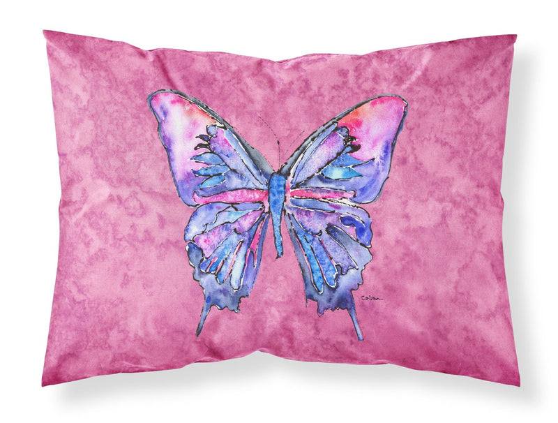 Buy this Butterfly on Pink Moisture wicking Fabric standard pillowcase