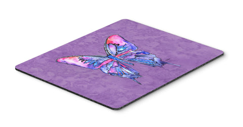 Buy this Butterfly on Purple Mouse Pad, Hot Pad or Trivet
