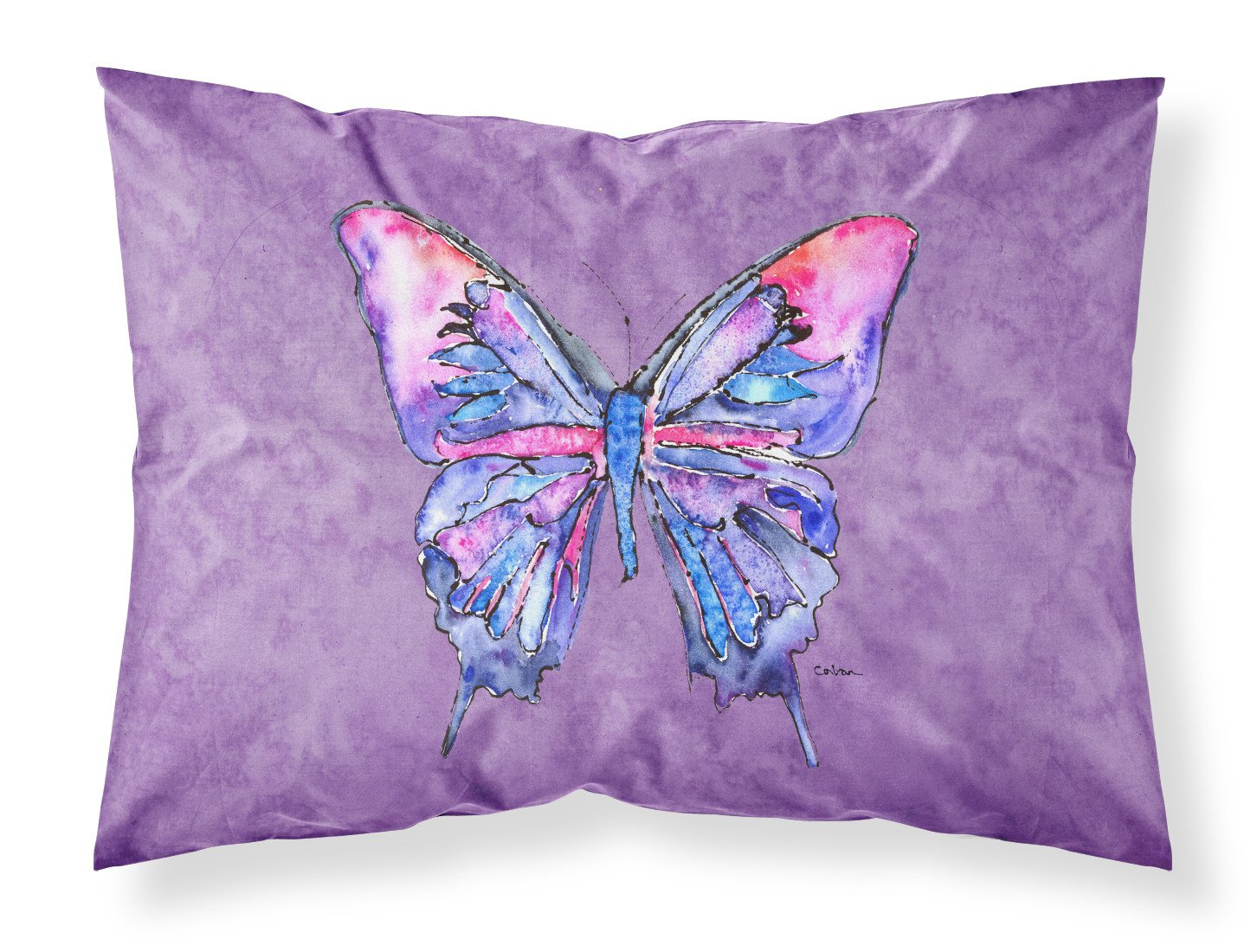Buy this Butterfly on Purple Moisture wicking Fabric standard pillowcase
