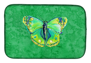 Buy this Butterfly Green on Green Dish Drying Mat 8863DDM