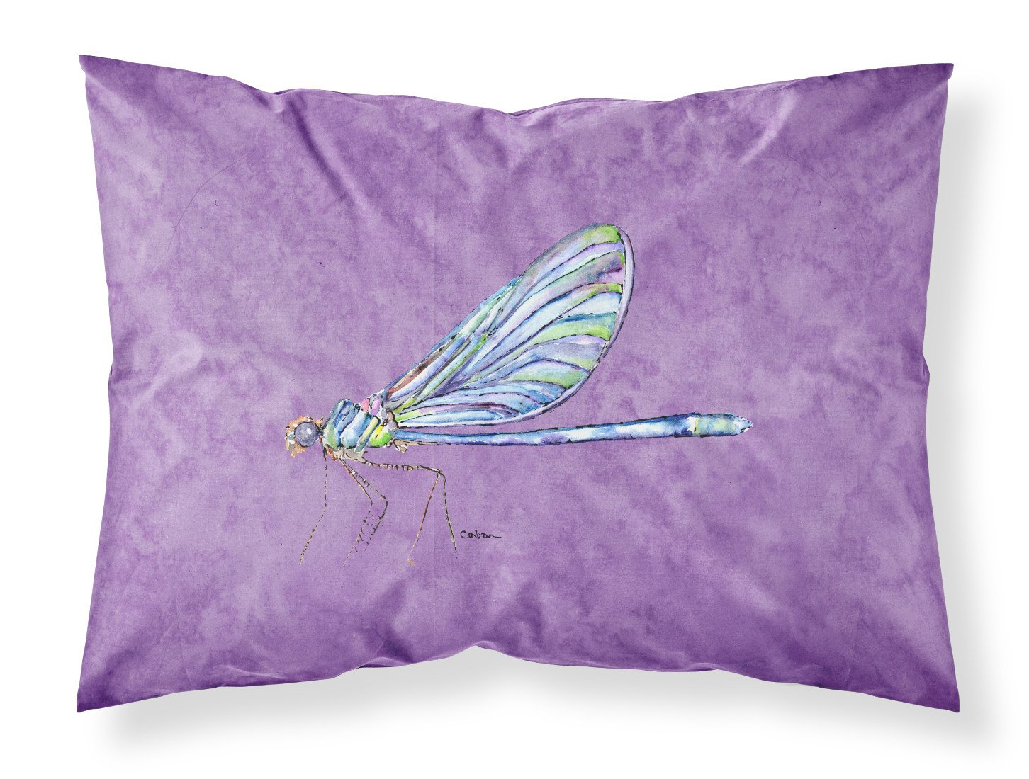 Buy this Dragonfly on Purple Moisture wicking Fabric standard pillowcase