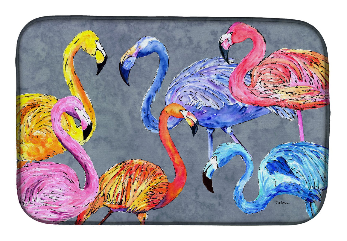 Buy this Flamingo Six Senses Dish Drying Mat 8871DDM