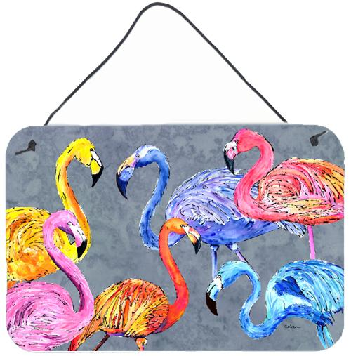 Buy this Flamingo Six Senses Aluminium Metal Wall or Door Hanging Prints