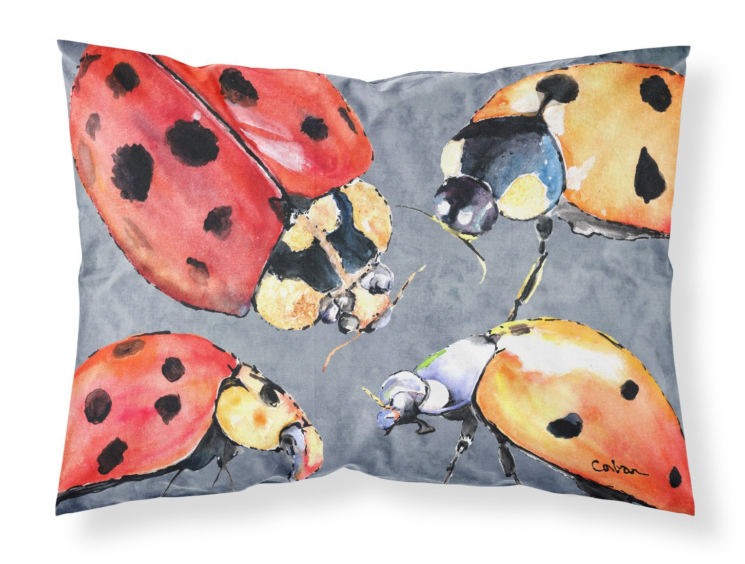 Buy this Lady Bug Multiple Moisture wicking Fabric standard pillowcase