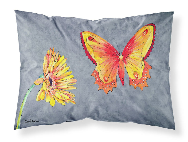 Buy this Gerber Daisy and Buttefly Moisture wicking Fabric standard pillowcase