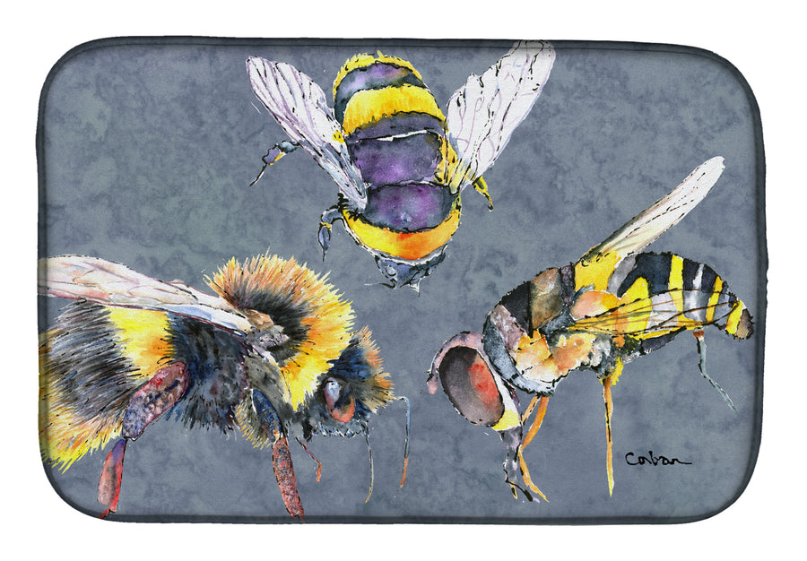 Buy this Bee Bees Times Three Dish Drying Mat 8879DDM