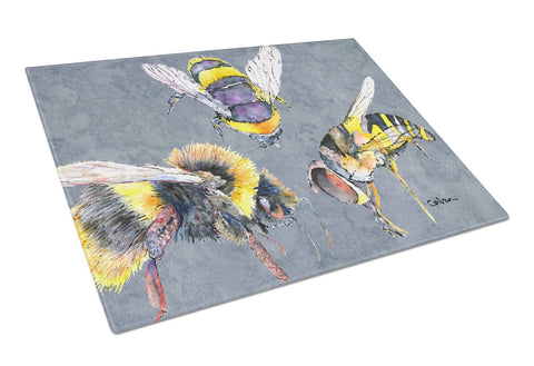 Buy this Bee Bees Times Three Glass Cutting Board Large
