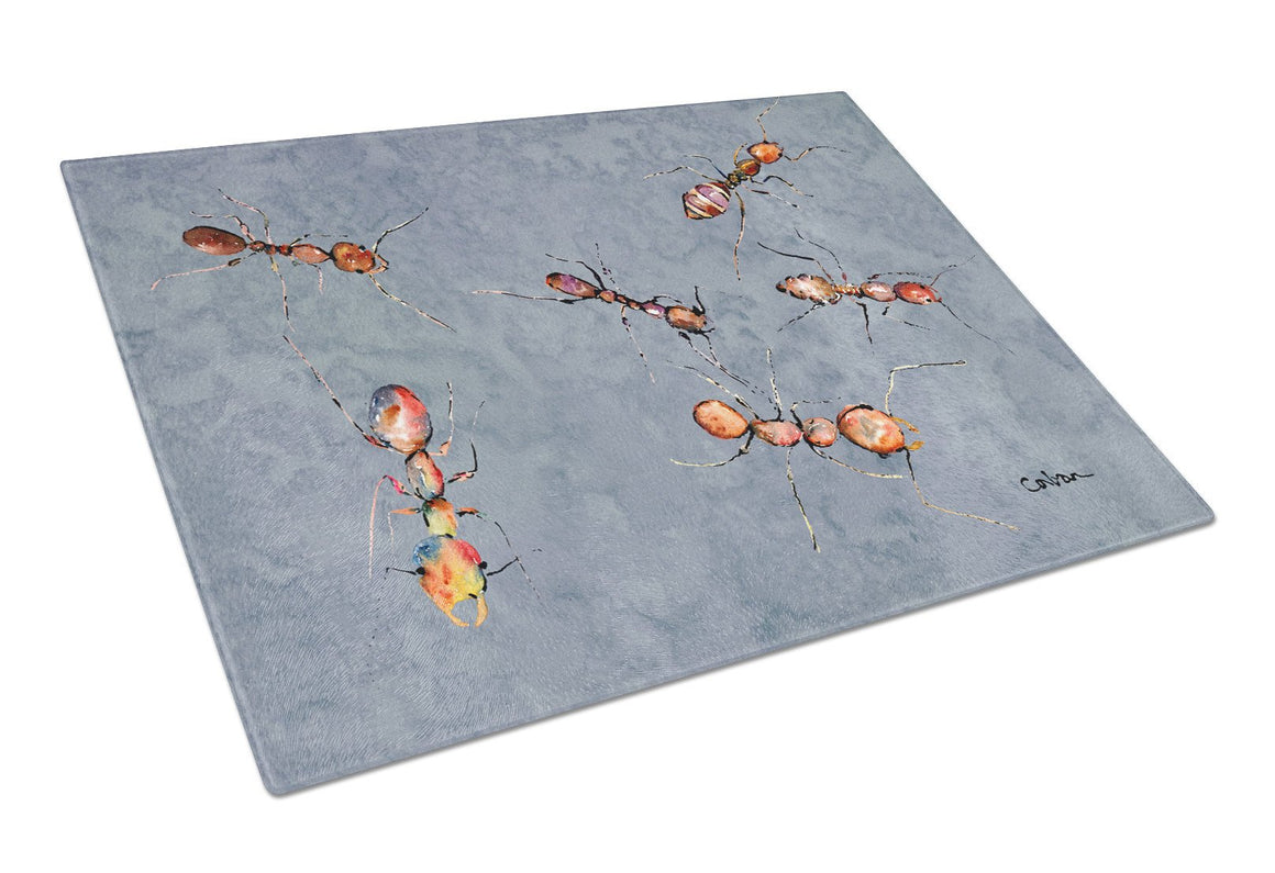 Ants  Glass Cutting Board Large - the-store.com