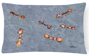 Ants   Canvas Fabric Decorative Pillow - the-store.com