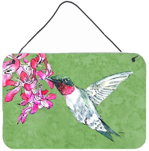 Buy this Hummingbird Aluminium Metal Wall or Door Hanging Prints