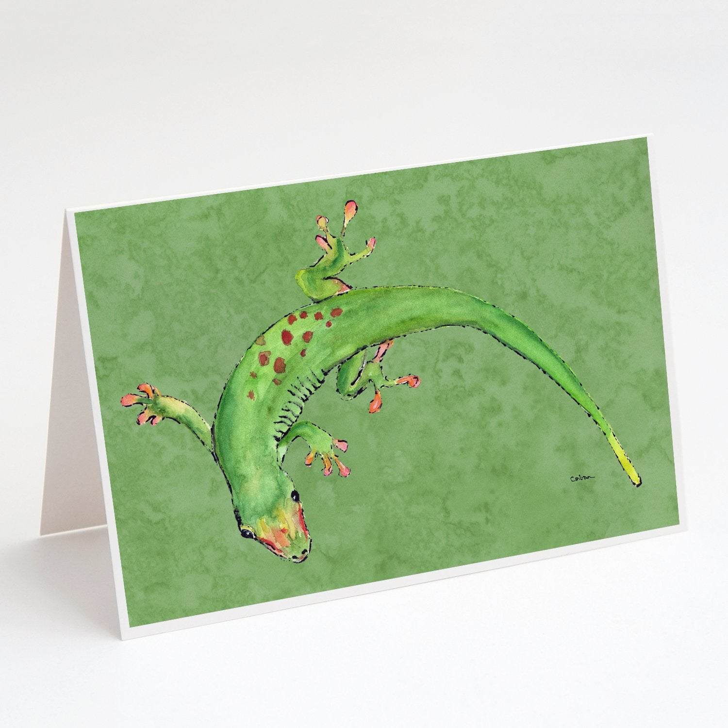 Buy this Gecko Greeting Cards and Envelopes Pack of 8