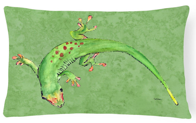 Buy this Gecko   Canvas Fabric Decorative Pillow