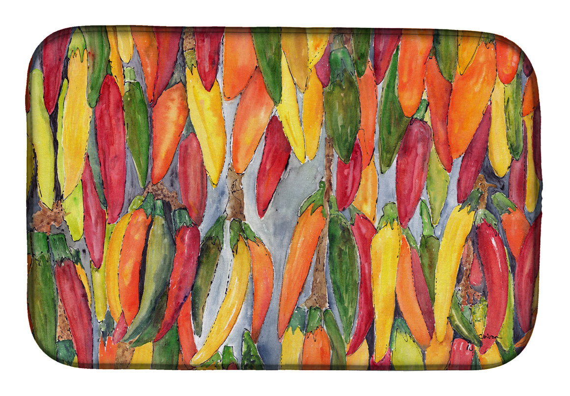 Buy this Hot Peppers Dish Drying Mat 8893DDM