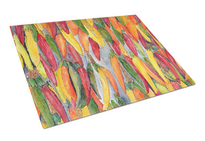 Buy this Hot Peppers Glass Cutting Board Large