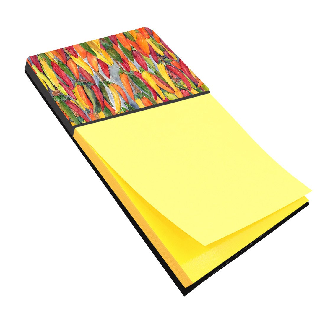 Hot Peppers Refiillable Sticky Note Holder or Postit Note Dispenser 8893SN by Caroline's Treasures
