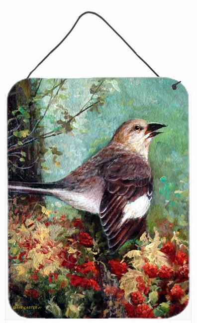 Mockingbird Wall or Door Hanging Prints PJC1061DS1216 by Caroline's Treasures