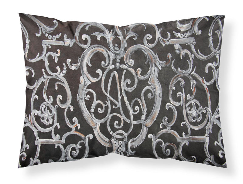 Buy this Ironwork Fence Fabric Standard Pillowcase 8927PILLOWCASE