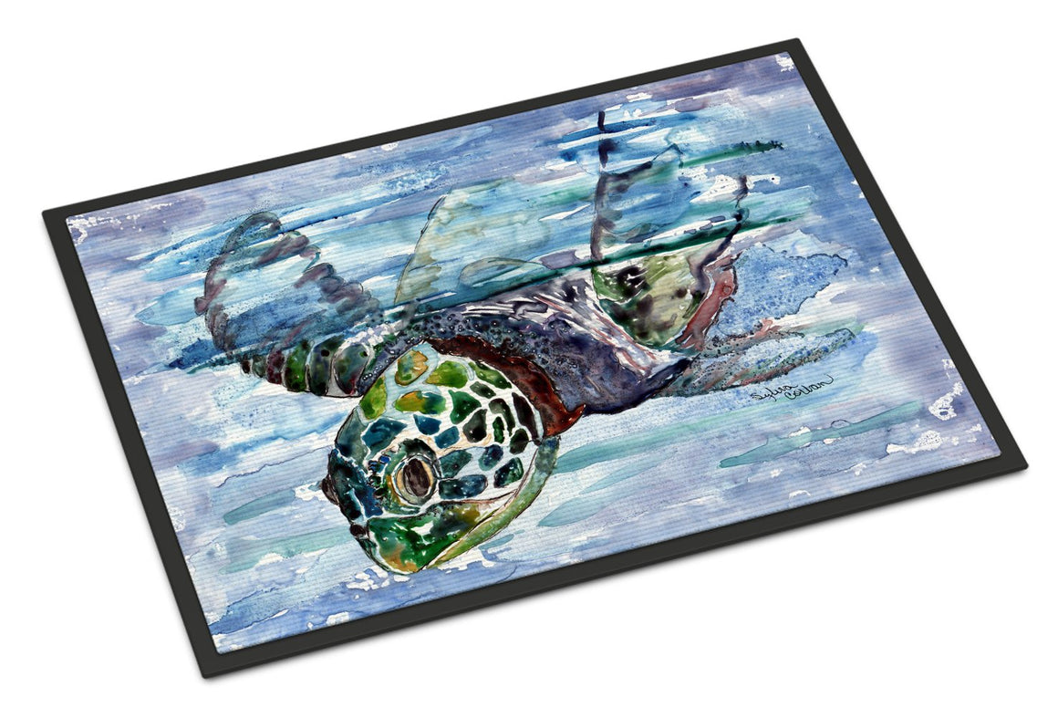 Buy this Loggerhead Turtle in a Dive Indoor or Outdoor Mat 24x36 8941JMAT