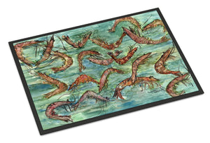 Buy this Catch of Shrimp Indoor or Outdoor Mat 24x36 8943JMAT