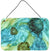 Buy this Abstract in Teal Flowers Wall or Door Hanging Prints 8952DS812