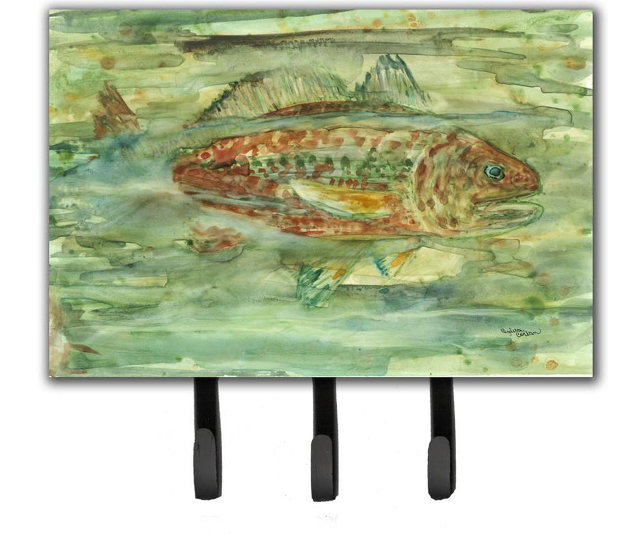 Buy this Abstract Red Fish Leash or Key Holder 8960TH68