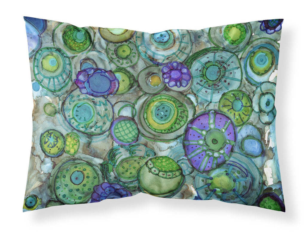Buy this Abstract in Blues and Greens Fabric Standard Pillowcase 8962PILLOWCASE
