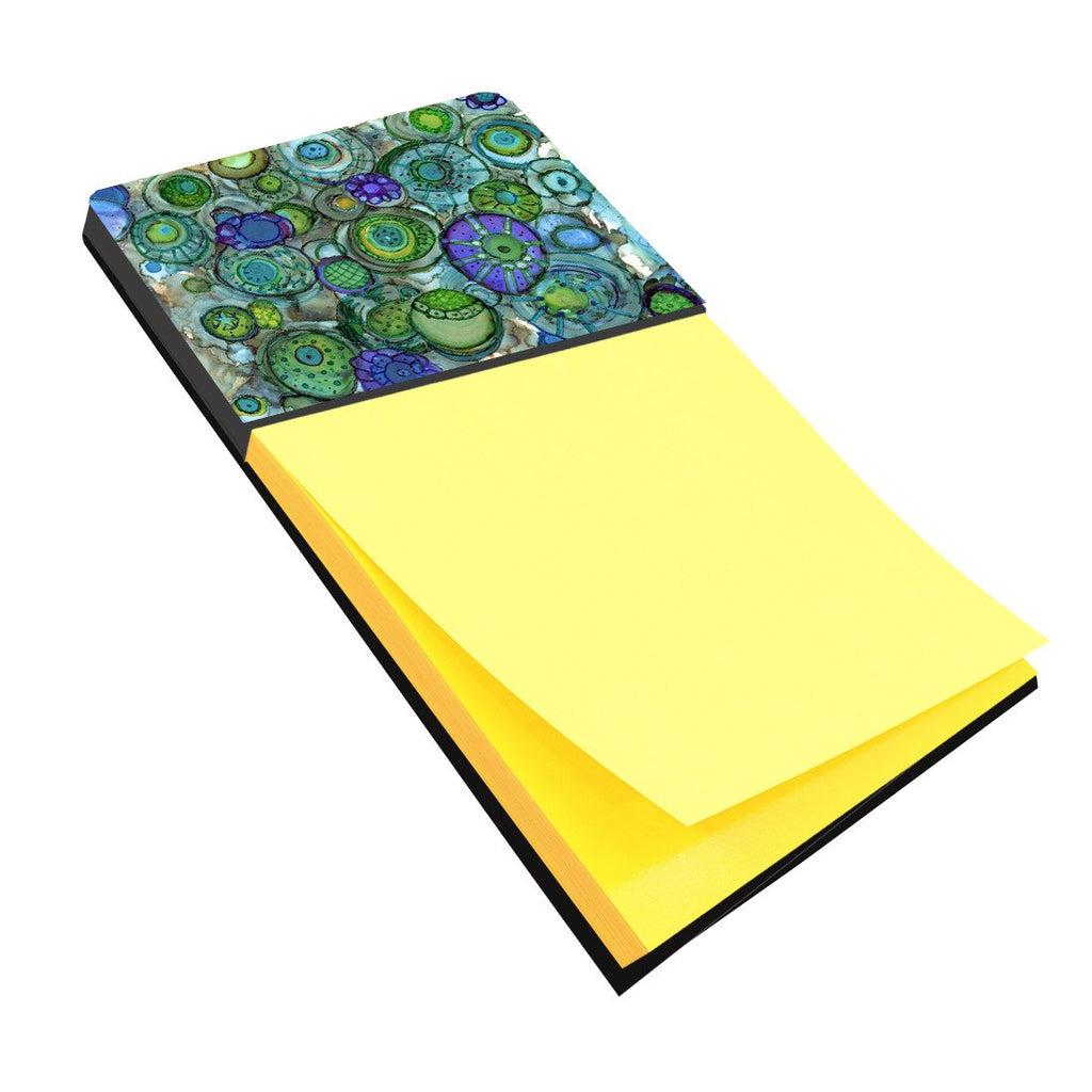 Buy this Abstract in Blues and Greens Sticky Note Holder 8962SN