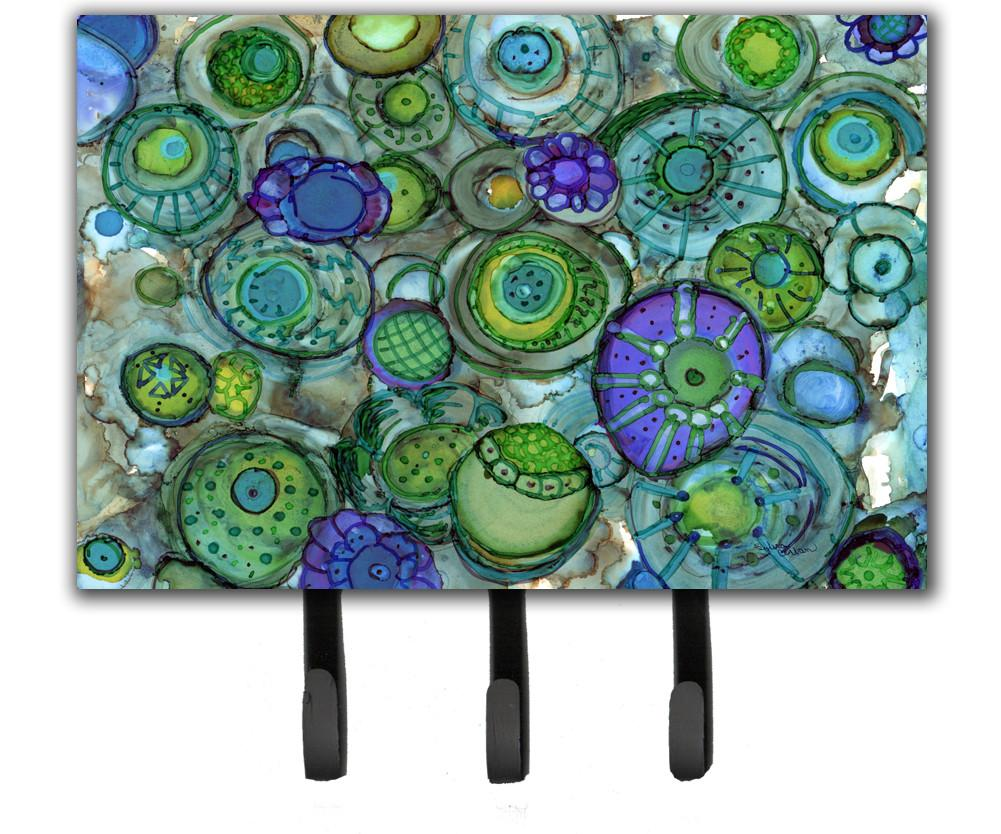 Buy this Abstract in Blues and Greens Leash or Key Holder 8962TH68