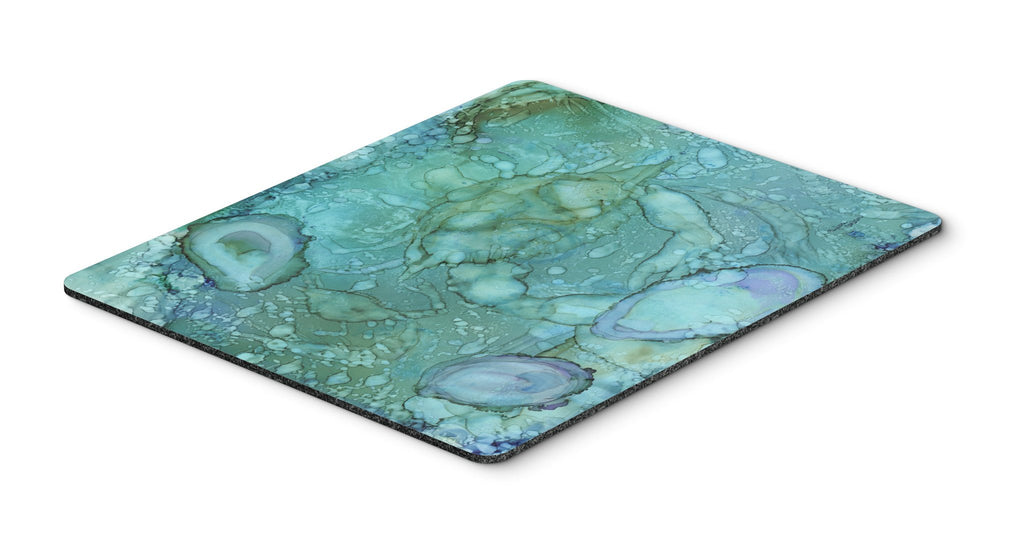 Buy this Abstract Crabs and Oysters Mouse Pad, Hot Pad or Trivet 8963MP
