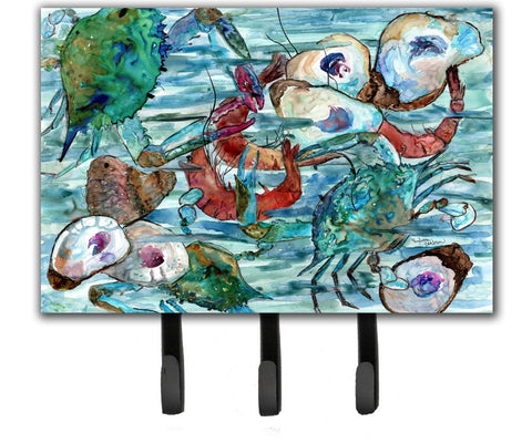 Buy this Watery Shrimp, Crabs and Oysters Leash or Key Holder 8964TH68