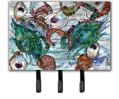 Buy this Shrimp, Crabs and Oysters in water Leash or Key Holder 8965TH68