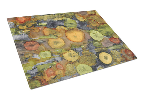 Buy this Abstract with Mother Earth Glass Cutting Board Large 8966LCB