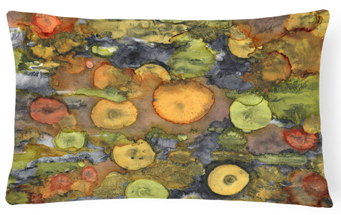 Buy this Abstract with Mother Earth Fabric Decorative Pillow 8966PW1216