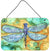 Abstract Dragonfly Wall or Door Hanging Prints 8967DS812 by Caroline's Treasures