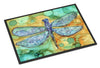 Abstract Dragonfly Indoor or Outdoor Mat 18x27 8967MAT - the-store.com