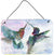 Hummingbird Combat Wall or Door Hanging Prints by Caroline's Treasures
