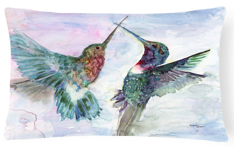 Buy this Hummingbird Combat Fabric Decorative Pillow 8968PW1216