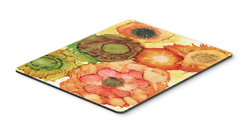 Buy this Abstract Flowers Blossoms Mouse Pad, Hot Pad or Trivet 8970MP