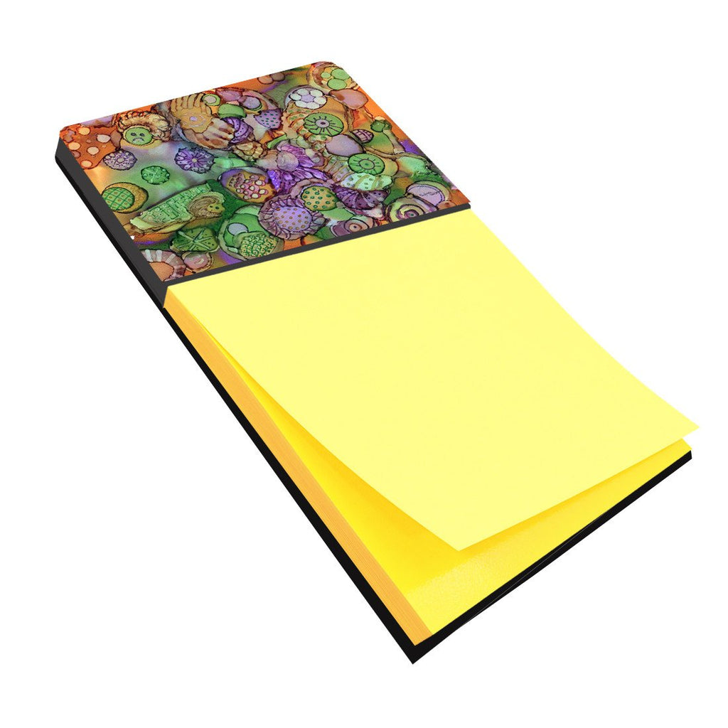 Buy this Abstract in Purple Green and Orange Sticky Note Holder 8971SN