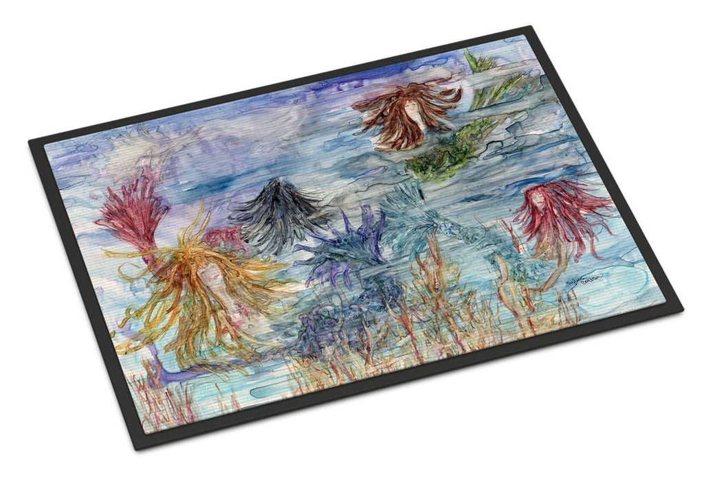 Buy this Abstract Mermaid Water Fantasy Indoor or Outdoor Mat 24x36 8975JMAT