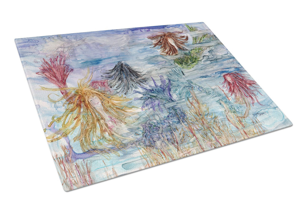 Buy this Abstract Mermaid Water Fantasy Glass Cutting Board Large 8975LCB