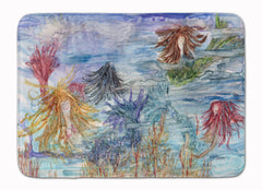 Buy this Abstract Mermaid Water Fantasy Machine Washable Memory Foam Mat 8975RUG