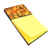 Abstract in Orange and Greens Sticky Note Holder 8976SN by Caroline's Treasures
