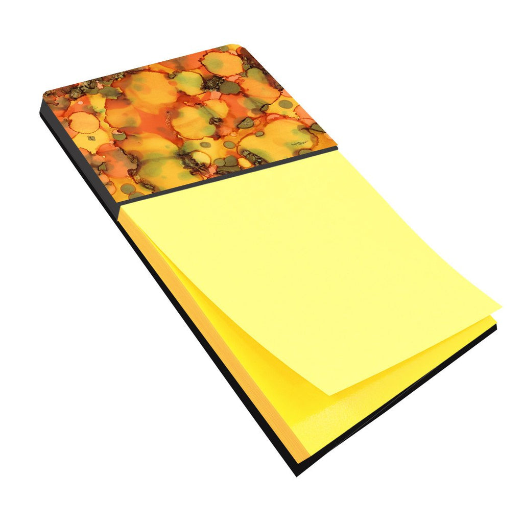 Buy this Abstract in Orange and Greens Sticky Note Holder 8976SN